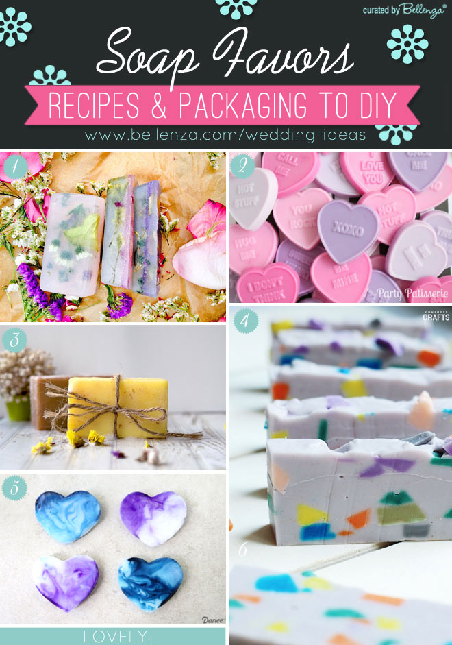 DIY Soap Recipes and Packaging Ideas