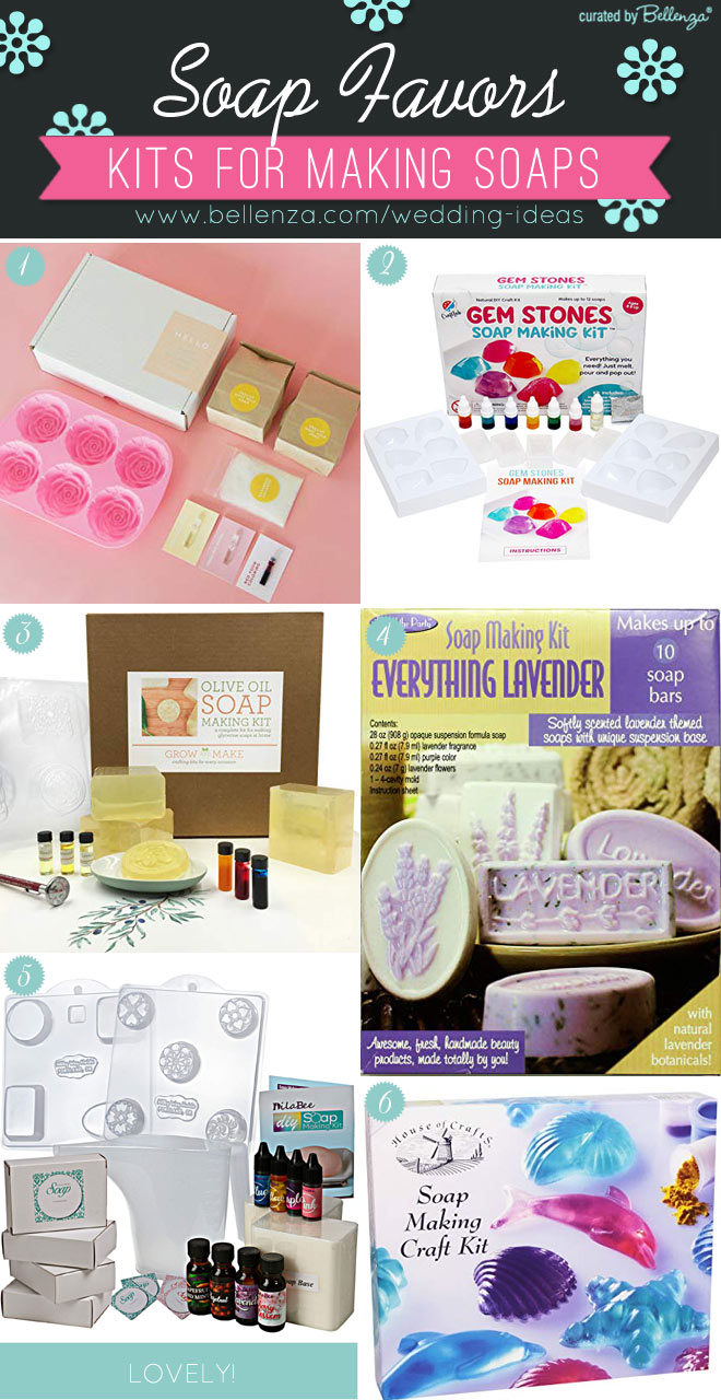 Soap making kits, easy ready to make soap kits