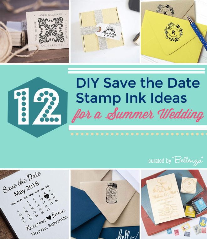 12 creative and unique save the date stampers