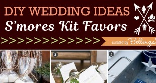 DIY S'mores Kit Ideas for Wedding Favors