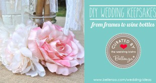 10 Ways to Make Special Keepsakes of Your Wedding