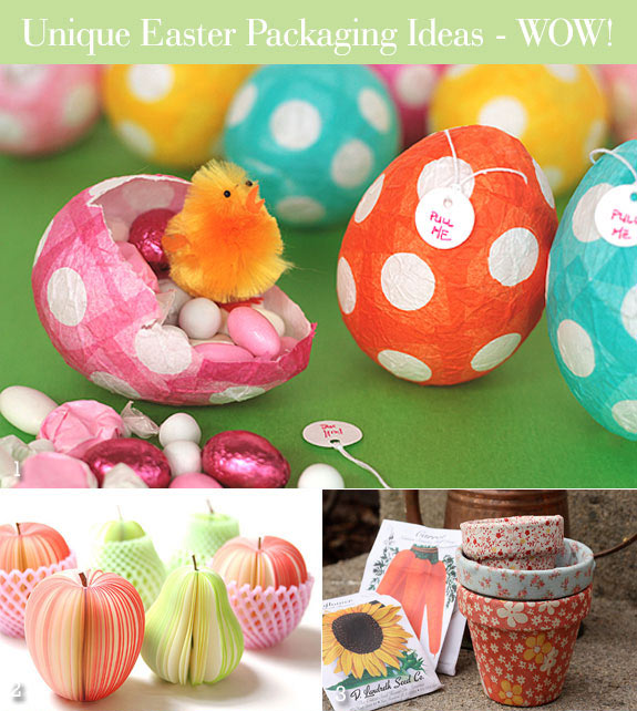 Easter treat favor containers