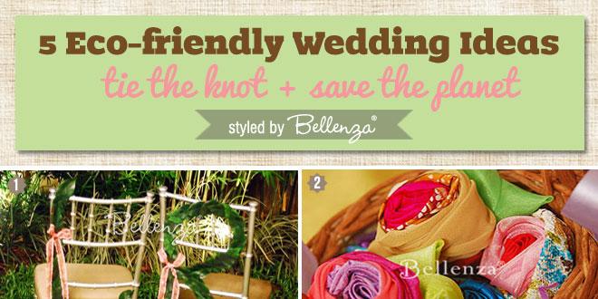 Eco-friendly wedding ideas by Bellenza