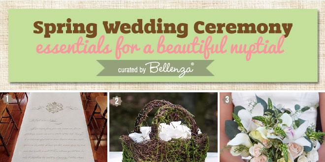 Elegant Yet Simple Spring Ceremony Ideas