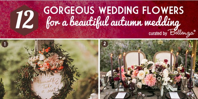 How to Choose Your Fall Wedding Flowers