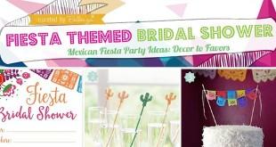 fiesta themed bridal shower ideas