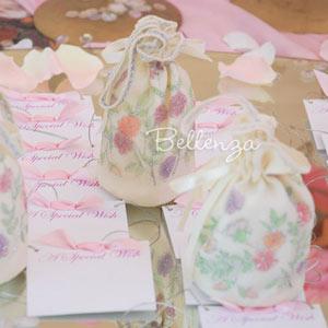 Bridal shower favor pouches