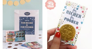 For Richer…For Poorer: Lottery Tickets for Wedding Favors