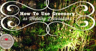 DIY Ideas for Using Greenery in Your Wedding Decorations