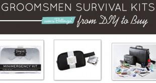 Gift Kits for Groomsmen Emergencies