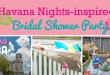 Ideas for hosting a Havana Nights Bridal Shower Party with a Backyard Vibe // curated by Bellenza.