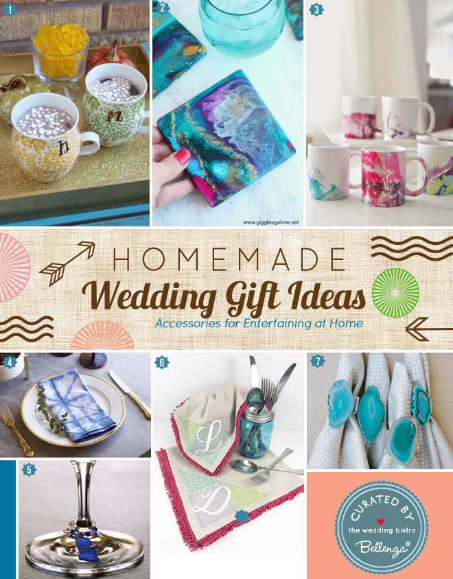 Home Accessories that are Homemade like Coffee Mugs and Coasters
