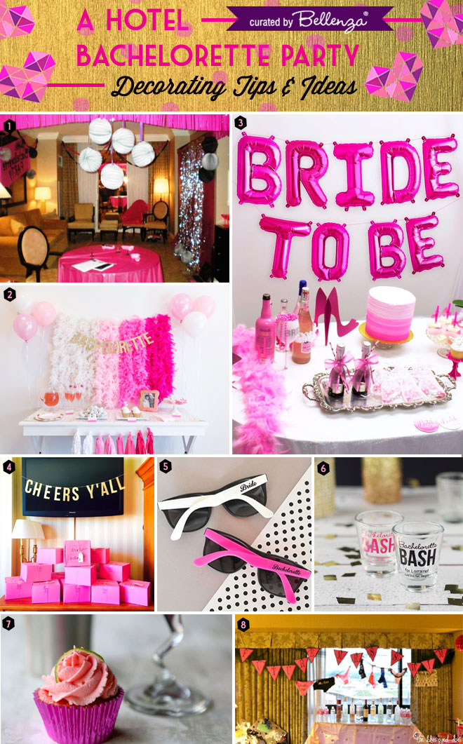 Hotel Bachelorette Party Planning Ideas