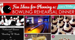 How to plan a rehearsal dinner bowling party