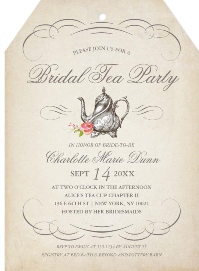 Host a Quaint Victorian Tea Party for Your Bridal Shower - Unique ...