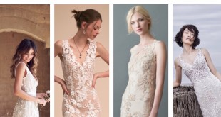 Classy not trashy wedding gowns in nude