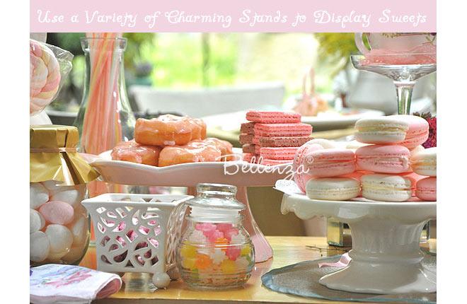 Pink springtime sweets for a bridal shower