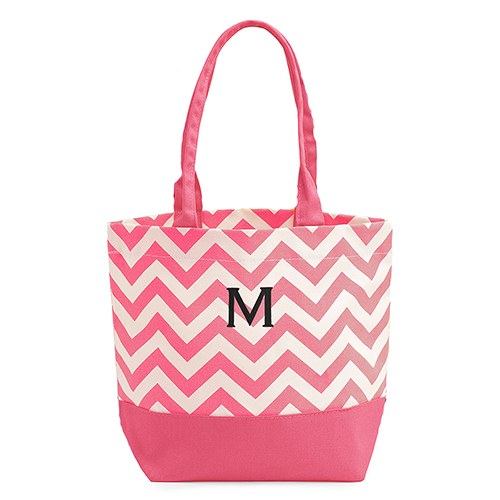 1 - Chevron Canvas Tote