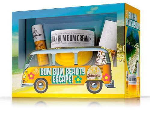 5 - Sol De Janeiro Bum Bum Brazilian Beauty Escape Gift Set