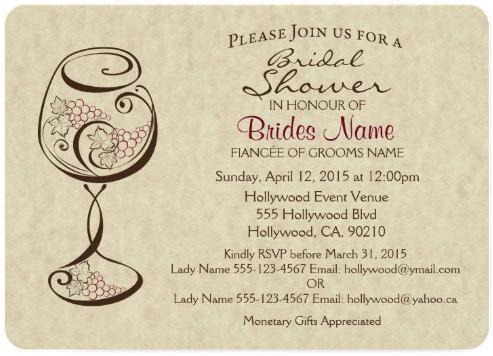 Traditional invite