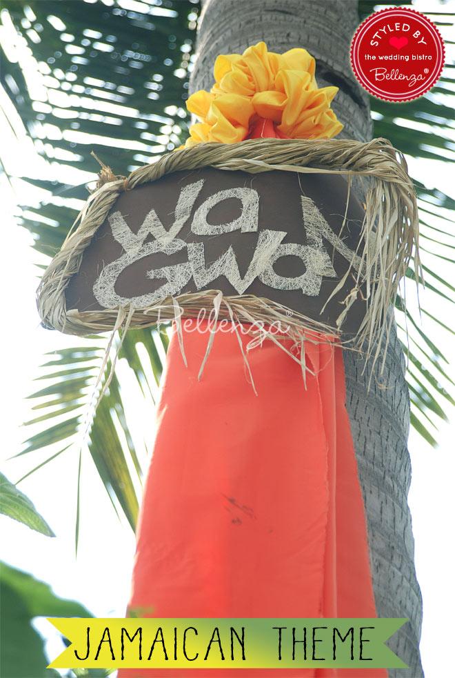 Wa Gwan welcome sign