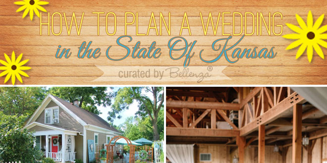 Popular Wedding Venues in Kansas // Curated by Bellenza.