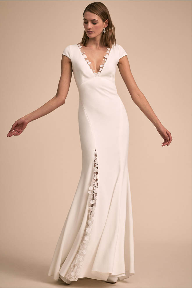 """Keats"" Gown by Rime Arodaky, via BHLDN"