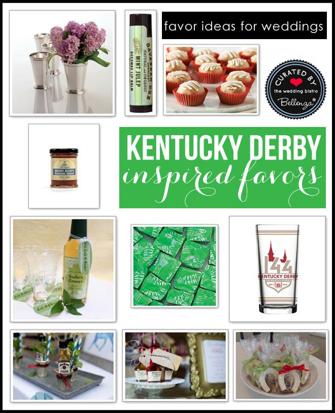 Kentucky Derby Wedding Favors