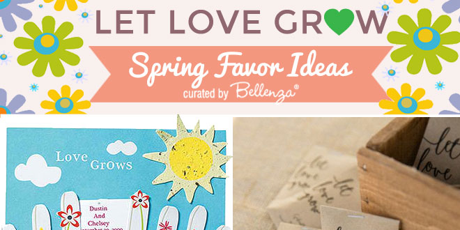Let Love Grow for Spring Favors