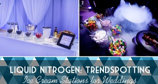Liquid Nitrogen Ice Cream Weddings