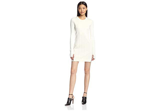 simple cable-knit dress (via Amazon)
