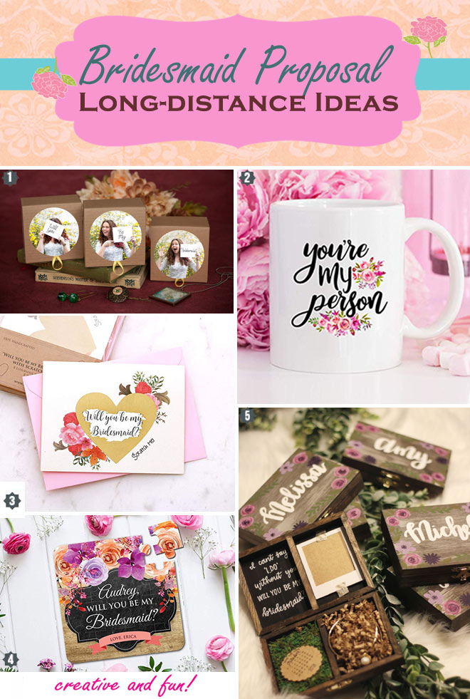 Rustic to homemade bridesmaid proposal ideas