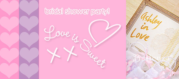 Love is Sweet Bridal Shower Signage