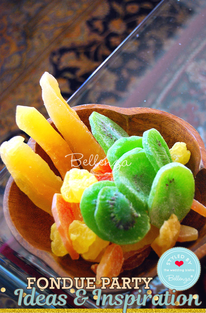 Tropical fruits for fondue dippers // Bellenza