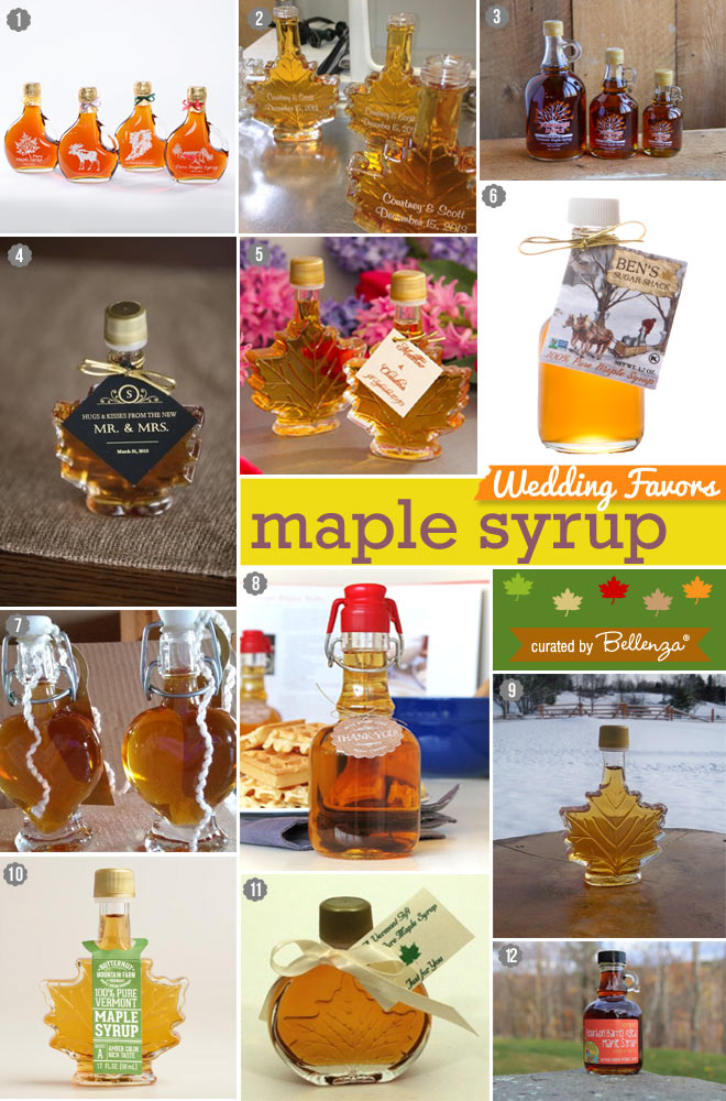 Maple Syrup in Individual Bottles