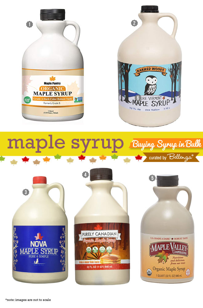 Maple syrup in bulk to buy for wedding favors