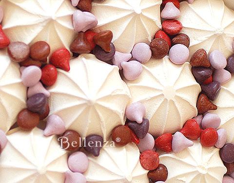 White meringues