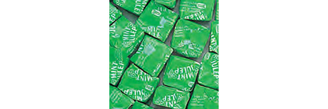 Mint julep chews sold on Amazon