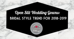 Slit-Skirt Wedding Dress Finds 2018-2019