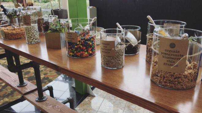HOW-TO: Create a Trail Mix Bar at Your Wedding - Unique Wedding ...