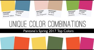 Pantone 2017 color combos for Spring Weddings by Bellenza.