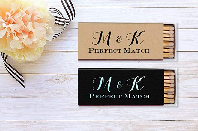 The Perfect Match matchbooks via Amazon