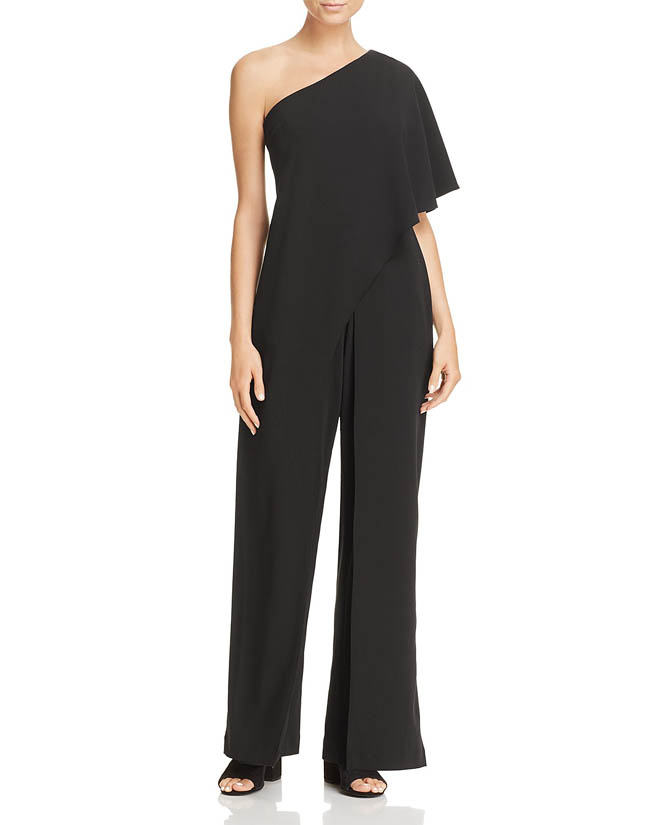 Adrianna Papell One-shoulder Jumpsuit