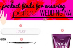 Product Finds For Wedding Nail Beauty Featuring Julep.