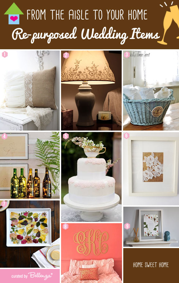 Re-purposed Ceremony and Reception Elements