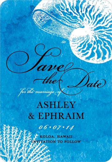 On The Shoreline Save The Dates