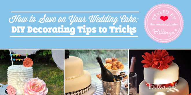 Surprising ways to save on your wedding cake for a small weddings