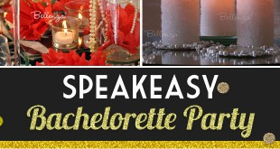 Glam Speakeasy Bachelorette Party Theme