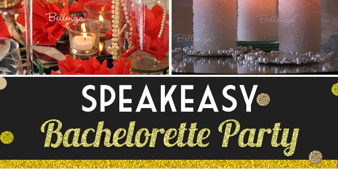 Glam Speakeasy Bachelorette Party Theme