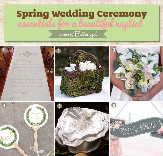 Spring Wedding Ceremony Essentials for a Beautiful Nuptial